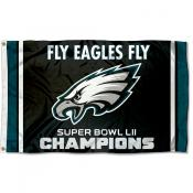 Philadelphia Eagles Fly Eagles Fly Super Bowl Champions Flag