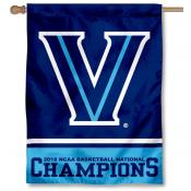 Villanova University Men's Basketball 2018 National Champions Banner Flag