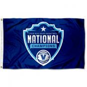 "Villanova University ""On the Court"" Logo 2018 Champions Flag"