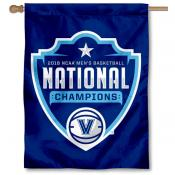 Villanova Wildcats NCAA Basketball 2018 Champions House Flag