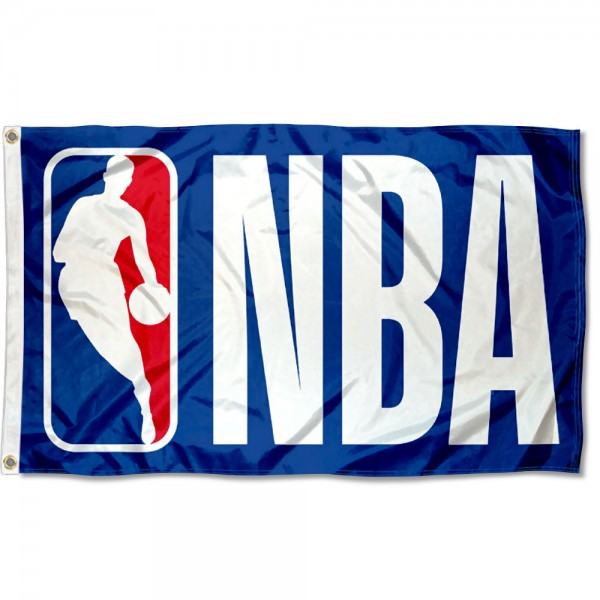 NBA Flag measures 3'x5', is made of 100% poly, has quadruple stitched sewing, two metal grommets, and has double sided logos. Our NBA Flag is officially licensed by the NBA.