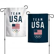 Team USA Olympic 2 Sided Garden Flag