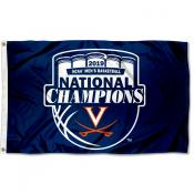 University of Virginia National Basketball 2019 Champions Flag