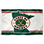 Minnesota State of Hockey Flag