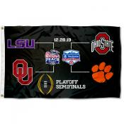 College Football CFP Playoff Game Flag