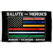 Salute Our Heroes Flag