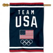 Team USA Olympic Banner Flag