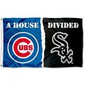 House Divided Flag - Cubs vs. White Sox