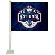 2014 UCONN National Champions Car Flag