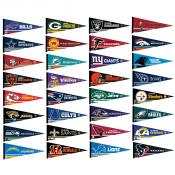 NFL Team Helmet Pennant Set