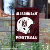 AAMU Bulldogs Helmet Yard Garden Flag