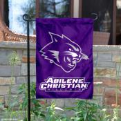 Abilene Christian University Garden Flag