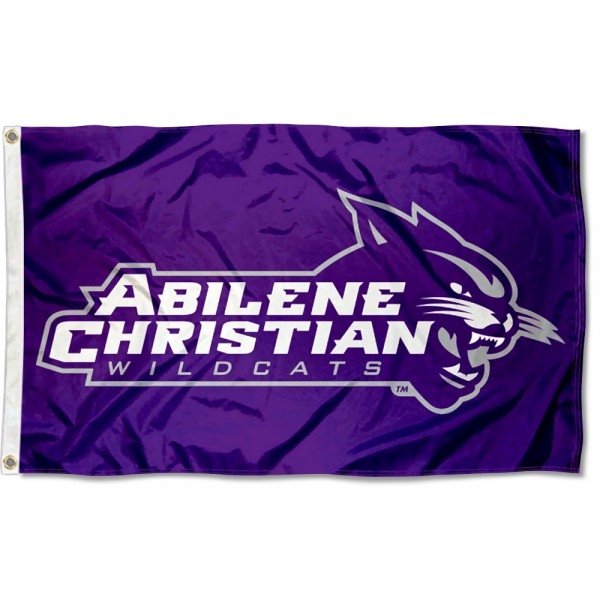 ACU Wildcats Logo Flag measures 3x5 feet, is made of 100% polyester, offers quadruple stitched flyends, has two metal grommets, and offers screen printed NCAA team logos and insignias. Our ACU Wildcats Logo Flag is officially licensed by the selected university and NCAA.