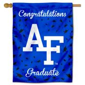 Air Force Falcons Congratulations Graduate Flag
