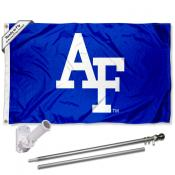 Air Force Falcons Flag Pole and Bracket Kit