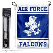 Air Force Falcons Garden Flag and Pole Stand Holder