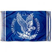Air Force Falcons Throwback Vault Logo Flag