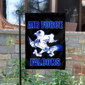 Air Force Falcons Vintage Logo Garden Flag