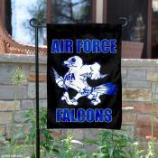 Air Force Falcons Vintage Logo Garden Flag