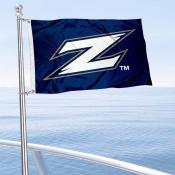 Akron Zips Boat and Mini Flag