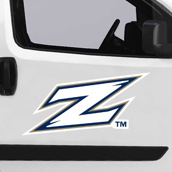 Akron Zips Large Magnet is ideal for inside or outside uses, car and auto door panels, and a great gift idea. Each magnet is a large 16x16 inches, is made of flexible 20 mil magnetic vinyl and has screen printed school logos and team names and slogans.