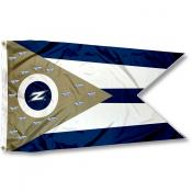 Akron Zips State of Ohio Flag