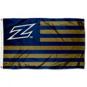 Akron Zips Stripes Flag