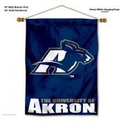 Akron Zips Wall Banner
