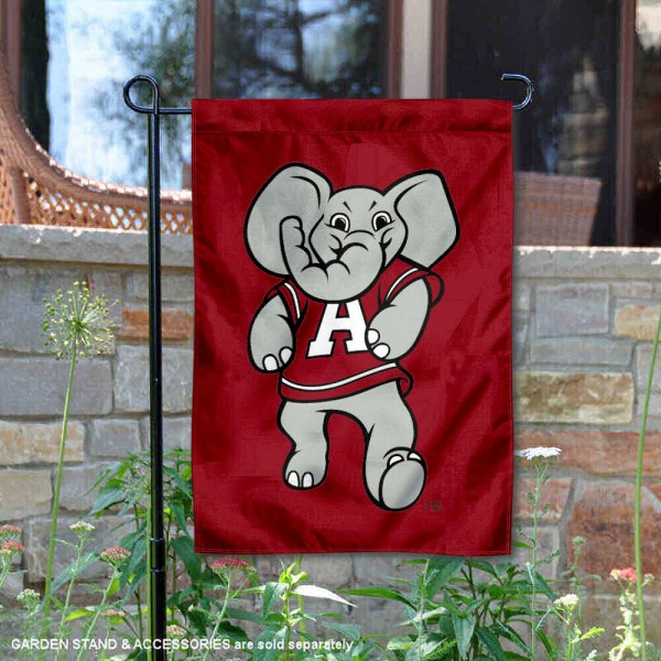 Alabama Big AL Mascot Yard Flag is 13x18 inches in size, is made of 2-layer polyester, screen printed Alabama Big AL Mascot athletic logos and lettering. Available with Same Day Express Shipping, Our Alabama Big AL Mascot Yard Flag is officially licensed and approved by Alabama Big AL Mascot and the NCAA.