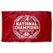 Alabama Crimson Tide 2020 CFP National Championship Game Champs Flag