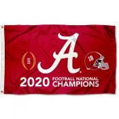 Alabama Crimson Tide 2020 College Football National Champions Flag