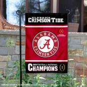 Alabama Crimson Tide 2020 Football CFP National Champions Garden Flag