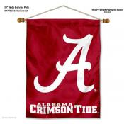 Alabama Crimson Tide A Logo Wall Banner