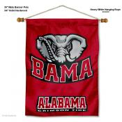 Alabama Crimson Tide BAMA Wall Banner