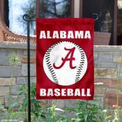 Alabama Crimson Tide Baseball Garden Flag