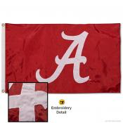 Alabama Crimson Tide Nylon Embroidered Flag