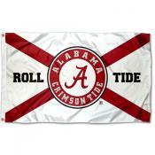 Alabama Crimson Tide State of Alabama Roll Tide Flag