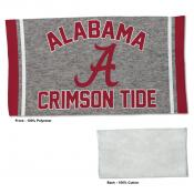 Alabama Crimson Tide Workout Exercise Towel