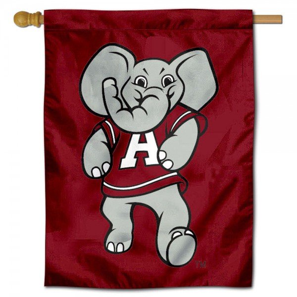 Alabama Mascot Logo Banner Flag is a vertical house flag which measures 30x40 inches, is made of 2 ply 100% polyester, offers screen printed NCAA team insignias, and has a top pole sleeve to hang vertically. Our Alabama Mascot Logo Banner Flag is officially licensed by the selected university and the NCAA.