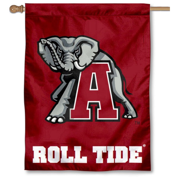 Alabama Vintage Mascot House Flag