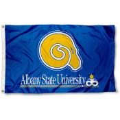 Albany State Golden Rams Logo Flag