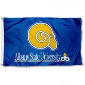 Albany State Golden Rams Logo Flag