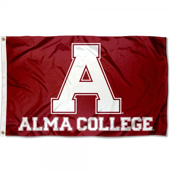 Alma College Scots A Logo Flag measures 3x5 feet, is made of 100% polyester, offers quadruple stitched flyends, has two metal grommets, and offers screen printed NCAA team logos and insignias. Our Alma College Scots A Logo Flag is officially licensed by the selected university and NCAA.