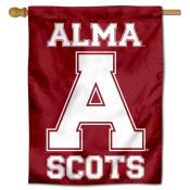 Alma College Scots Double Sided House Flag