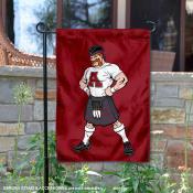 Alma Scots Scotty Mascot Garden Flag