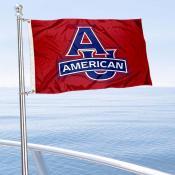 American Eagles Boat and Mini Flag