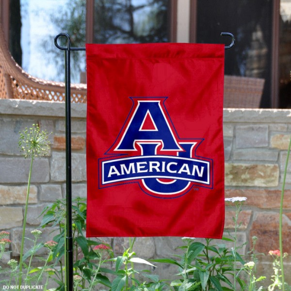 American Eagles Logo Garden Flag is 13x18 inches in size, is made of 2-layer polyester, screen printed American Eagles Bay athletic logos and lettering. Available with Same Day Express Shipping, Our American Eagles Logo Garden Flag is officially licensed and approved by American Eagles Bay and the NCAA.