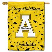 App State Mountaineers Congratulations Graduate Flag