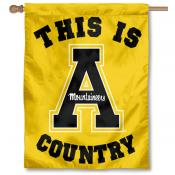 App State This is Mountaineers Country House Flag