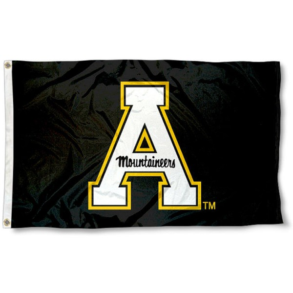 Appalachian State 3x5 Flag measures 3'x5', is made of 100% poly, has quadruple stitched sewing, two metal grommets, and has double sided Appalachian State logos. Our Appalachian State 3x5 Flag is officially licensed by the selected university and the NCAA